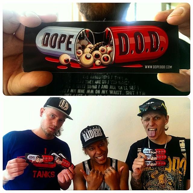 Стикер для Dope DOD